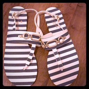 Kate Spade Sandals, never worn, size 9